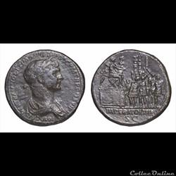 Trajan - Sesterce - imperator VIII