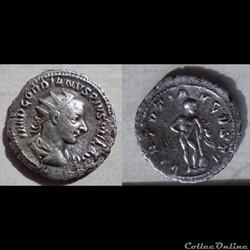 Gordien III - Antoninien - VIRTVTI AVGVSTI
