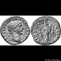 Trajan - denier - hybride FIDEI EXERCITVS