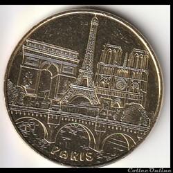 """""""Le pont et les 3 monuments de Paris"""" la..."""