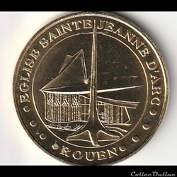 Eglise Sainte-Jeanne D'Arc-Rouen