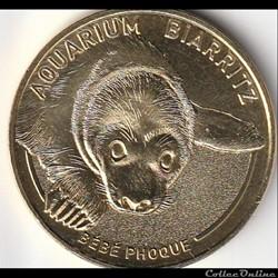 """Aquarium Biarritz """"bébé phoque"""""""