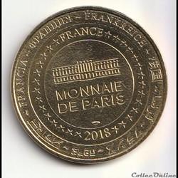 monnaie jeton mereaux france chateau de queribus candidat a unesco