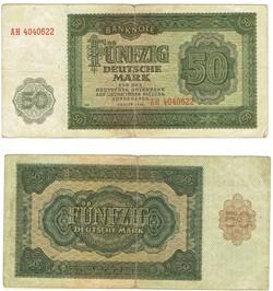 50 Deutsche Mark type 1948