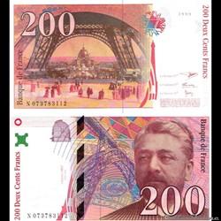"200 francs type 1995 ""Gustave Eiffel"""