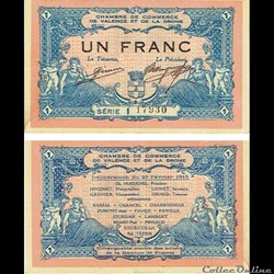 01 - 1 franc chambre du commerce