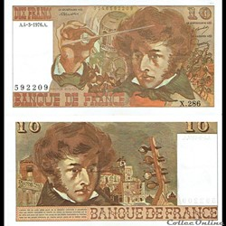 "10 francs type 1972 ""Berlioz"""