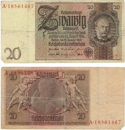 Billet  de 20 Mark 1929