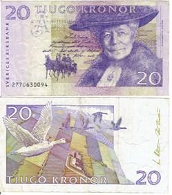 Billet de 20 Kronor