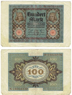 100 Mark, type 1920