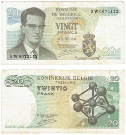 20 Francs, 1964-1966
