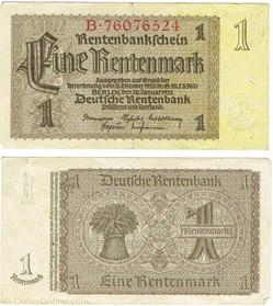 1 Rentenmark, 1937