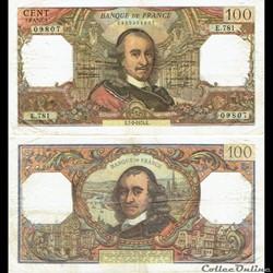 "100 francs type 1964 ""Corneille"""