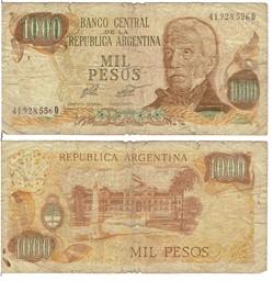 ARGENTINE – 1000 Pesos