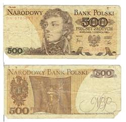 POLOGNE-500 Zlotych