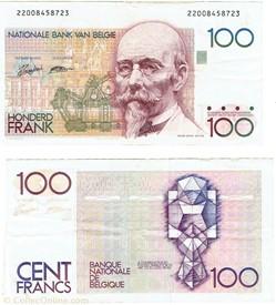 100 Francs type 1981-82