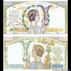 "5 000 francs type 1934 ""Victoire"""