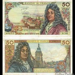"""50 francs type 1962 """"Racine"""""""