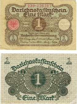 1 Mark type 1920