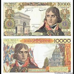 10 000 francs  type 1955 « Bonaparte »