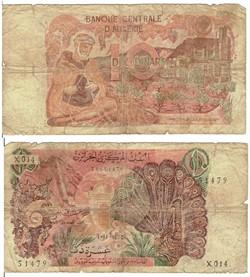 ALGERIE - 10 Dinars