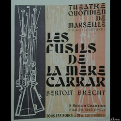 Théâtre Quotidien de Marseille, Les Fusils de la Mère Carrar (1958)
