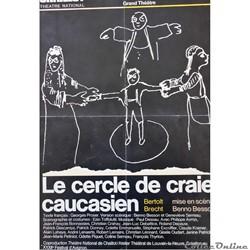 Théâtre National de Chaillot, Le Cercle de craie caucasien (1978)
