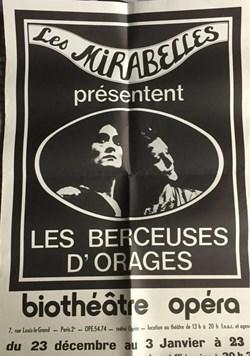Les Mirabelles, Les Berceuses d'orages (...