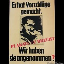 Plakate zu Brecht (1978)