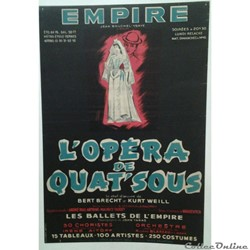 Théâtre de l'Empire, L'Opéra de Quat'sous (1954)