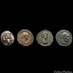 Monnaies gauloises, romaines & féodales -  séléction de monnaies en Vidéo