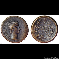 Monnaies romaines d'Auguste