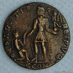 L'atelier d'Arles a commencé à frapper monnaie en 313, suite à la décision de Constantin I de déplacer l'atelier d'Ostie. Il a été utilisé jusqu'à la fin de l'empire romain. Les...