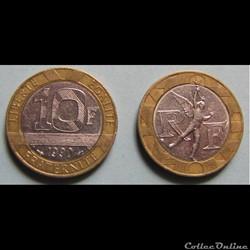 Les francs c'était avant. (Vème République)