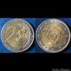 Pièces 2 euros commémoratives