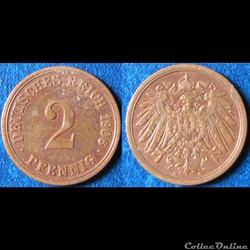 Monnaie Allemagne 1871-1948