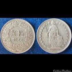 Monnaie Suisse moderne