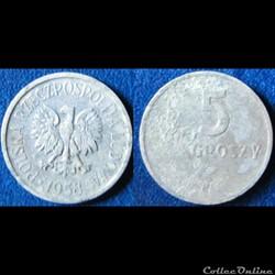Monnaie moderne de Pologne