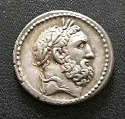 Monnaies en argent de la République romaine