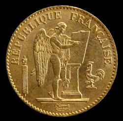 France - 20 francs or