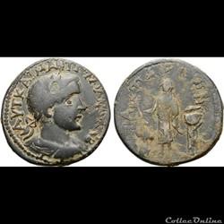 Les monnaies de Lycie émises au nom de Gordien III et Tranquilline