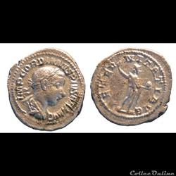 Quinaires et deniers de Gordien III
