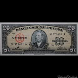 Billets Cubain 1960