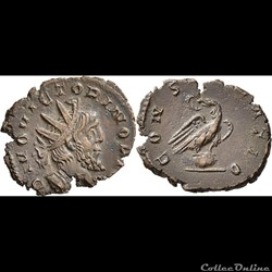 Coins from Divus Victorinus and consecration hybrids