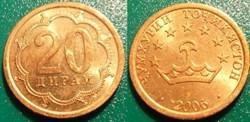 World Coins-Tadjikistan