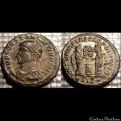 "Monnaies Romaines ""Constantin au plumet"""