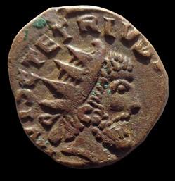 Imitations locales de Tétricus I, Tétricus II, Victorin, Claude II, etc.