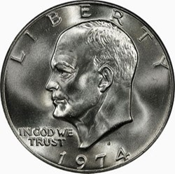 One $ Eisenhower - (1971-1978) USA Dollars