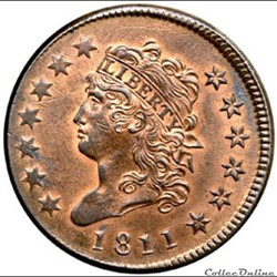One Cent - Classic Head Cents (1808-1814...