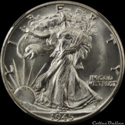 Half $ Walking Liberty (1916-1947) - 50 ...